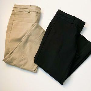 The Limited bundle of dress capris Size 2